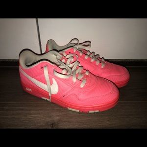 Hot Pink Nike Air Force 1's